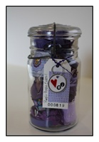 Purple People Eater Jar