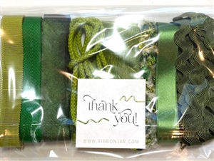 Spring Green Ribbon Pack