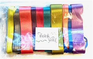 Satin Ribbon Wrapping Pack
