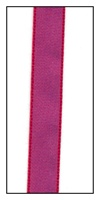 Raspberry Taffeta Ribbon 10mm