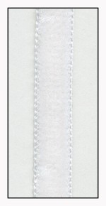 White French Velvet Ribbon 9mm