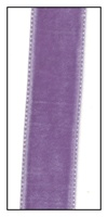 Grape French Velvet Ribbon 16mm