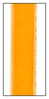 Tangerine French Velvet Ribbon 16mm