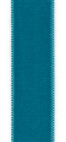 Teal French Velvet Ribbon 23mm