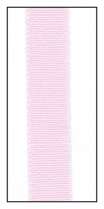 Baby Pink Organic Cotton Ribbon 12mm
