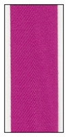 Fuchsia 32mm Herringbone Ribbon