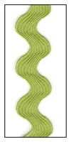 Green Tea 17mm Ric-Rac