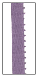 Grape Single Picot Edge Piping 11mm