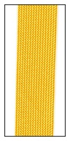 Tangerine Medium Rayon trimming braid 20mm