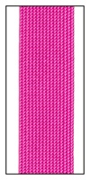 Fuchsia Medium Rayon trimming braid 20mm