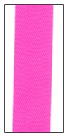 Fluorescent Pink 20mm Herringbone Ribbon