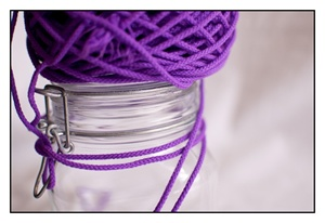 Amethyst Spindle Cord 3mm