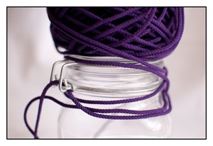 Purple Iris Spindle Cord 3mm