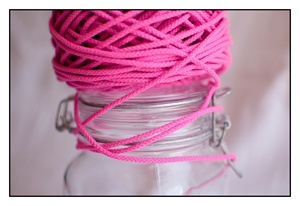 Fluorescent Pink Spindle Cord 3mm