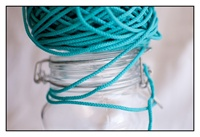 Cyan Sky Spindle Cord 3mm