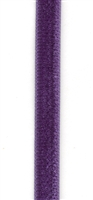 Purple Double Faced Velvet Ribbon 6mm