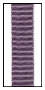 Grape Petersham Grosgrain Ribbon 15mm