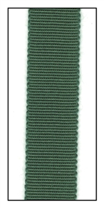 Fir Green Petersham Grosgrain Ribbon 15mm
