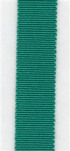 Emerald Petersham Grosgrain Ribbon 15mm