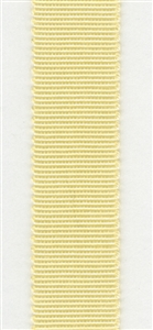 Pale Yellow Petersham Grosgrain Ribbon 15mm