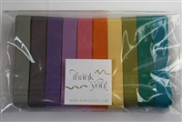 Rainbow of Petersham Grosgrain Ribbon Pack 15mm