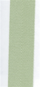 Sage Cotton Herringbone 20mm