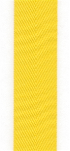 Lemon Zest Cotton Herringbone 20mm