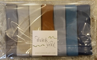 Sand and Surf Cotton Herringbone Ribbon Pack 20mm