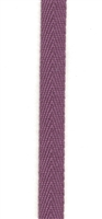 Grape Cotton Herringbone 6mm