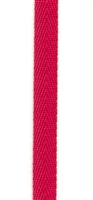 Lipstick Red Cotton Herringbone 6mm