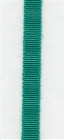 Emerald Petersham Grosgrain Ribbon 7mm