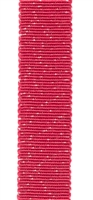 Sparkling Red Petersham Grosgrain Ribbon 15mm