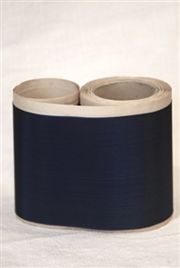 Navy Blue Vintage Taffeta Ribbon 4.25""