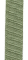 Olive Italian Fettuccia Ribbon 17mm