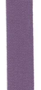 Plum Italian Fettuccia Ribbon 17mm