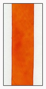 California Poppy Silk Ribbon 25mm