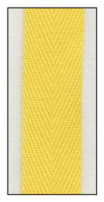 Sunshine 16mm Herringbone Ribbon