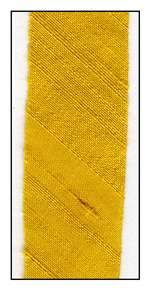 Dandelion Dupioni Silk 18mm Ribbon