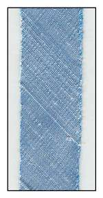 Ice Blue Dupioni Silk 18mm Ribbon