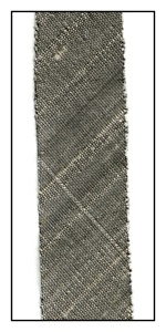 Pewter Dupioni Silk 18mm Ribbon