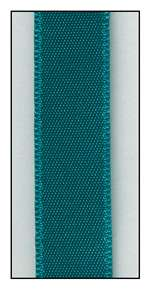 Peacock Double Faced Satin Ribbon 9mm