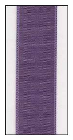 Heliotrope Double Faced Satin Ribbon 15mm