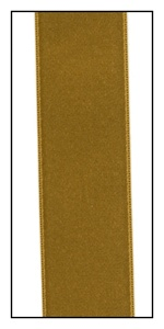Imperial Gold Double Faced Satin Ribbon 25mm