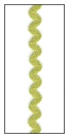 Light Olive 6mm Ric-Rac-Rac