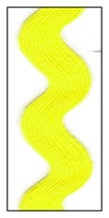 Bright Yellow Jumbo 40mm Ric-Rac-Rac