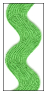 Grass Green Jumbo 40mm Ric-Rac-Rac
