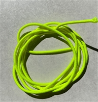 Fluorescent Yellow Stretch Cord 2mm