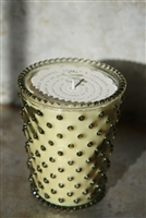No. 57 Stem Hobnail Glass Candle