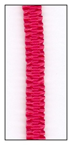 Cardinal Red Stretch Braid Trim 8mm