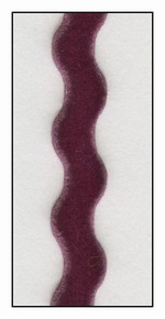 Purplish French Velvet Ric-Rac 9mm